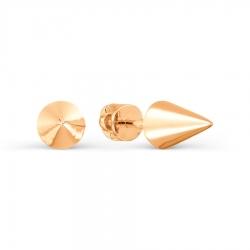 Золотые пусеты Геометрия