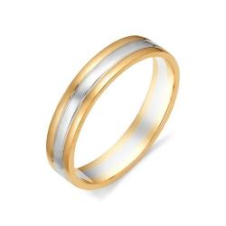 Обручальное кольцо шириной 3,8 мм.