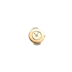 Золотая подвеска на браслет с бриллиантами