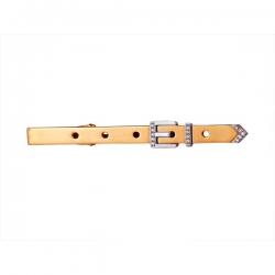 Зажим для галстука из золота 585 пробы с бриллиантами