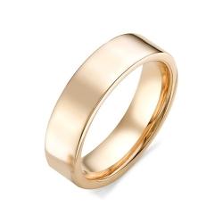 Обручальное кольцо без камней