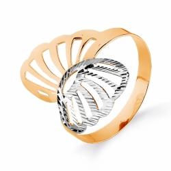 Золотое кольцо Бабочка без камней