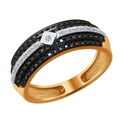 Золотое кольцо (Бриллиант) SOKOLOV