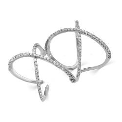 Кольцо из белого золота (Бриллиант)
