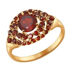 Золотое кольцо с грантом SOKOLOV