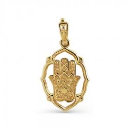 Мусульманская подвеска из желтого золота