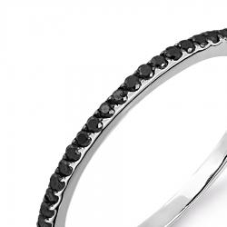 Т301014024 кольцо из белого золота с бриллиантами