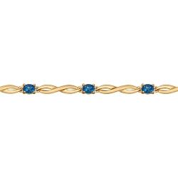Золотой браслет (Топаз) SOKOLOV