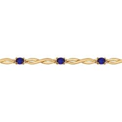 Золотой браслет (Сапфир ГТ) SOKOLOV