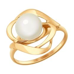 Золотое кольцо Роза (Жемчуг пресноводный) SOKOLOV