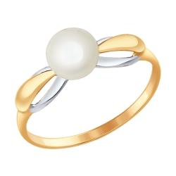 Золотое кольцо (Жемчуг пресноводный) SOKOLOV