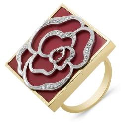 Эксклюзивное кольцо из золота с бриллиантами