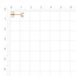 Т102028263 золотые серьги с фианитами