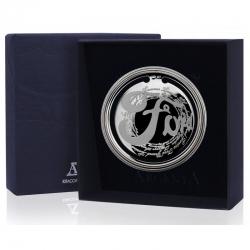 Серебряная закладка для книг «Ретро» Форд