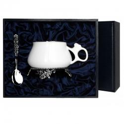 """Набор серебряная  чайная чашка """"Билибина"""""""