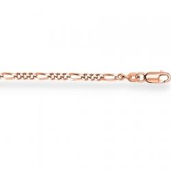 Золотая цепочка Фигаро 3+1 с алмазной гранью