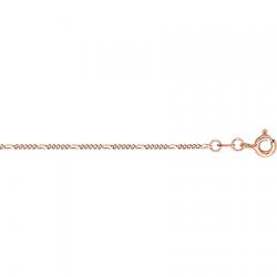 Золотая цепочка Фигаро 5+1 с алмазной гранью
