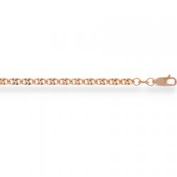 Золотая цепочка Окио ди перниче пустотелая с алмазной гранью