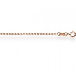 Золотая цепочка Кобра с алмазной гранью