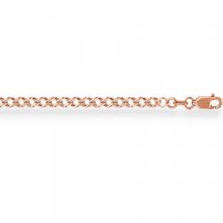 Золотой браслет Ромб двойной с алмазной гранью