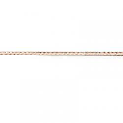 Золотая цепочка Снейк квадратный с алмазной гранью (одинарный гурмет)