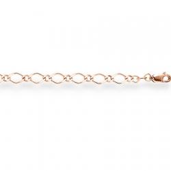 Золотая цепочка Нонна одинарная пустотелая с алмазной гранью