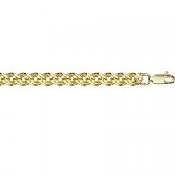Цепочка из желтого золота Нонна с алмазной гранью