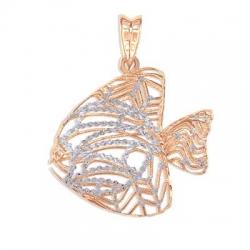 Золотая подвеска Рыбка