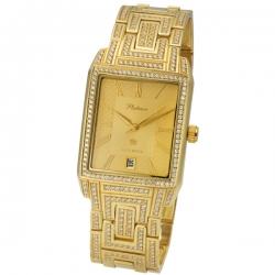 Мужские золотые часы модель 319