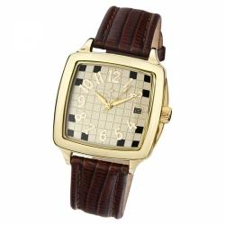 Мужские золотые часы «Вихрь»