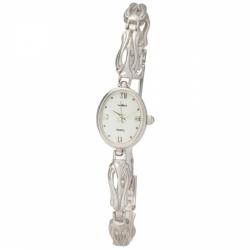 Женские серебряные часы «Чайка»
