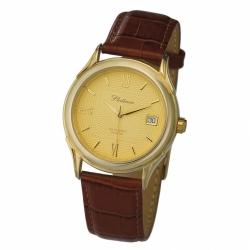 Мужские золотые часы «Сатурн»