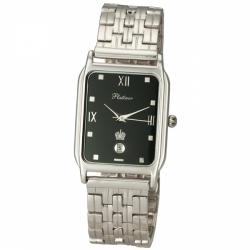 Мужские серебряные часы «Манхэттен»