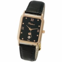 Мужские золотые часы «Манхэттен»