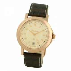Мужские золотые часы «Авиатор»