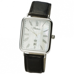 Мужские серебряные часы «Атлант»