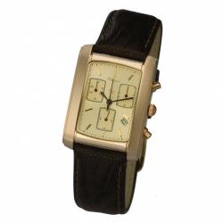Мужские золотые часы «Эстет»