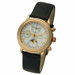 Мужские золотые часы «Монарх»