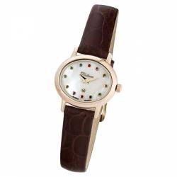 Женские золотые часы «Аврора»