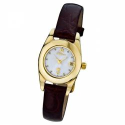 Женские золотые часы «Аркадия»