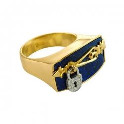 Эксклюзивное кольцо Сокровища Востока из золота