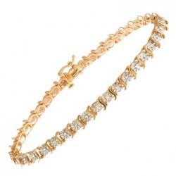 Браслет из белого золота c бриллиантами