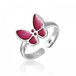 Кольцо для девочки с Бабочкой