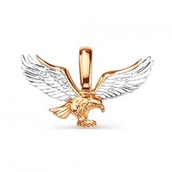 Золотая подвеска Птица