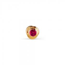Т10107162-01 золотой пирсинг с рубином