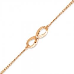 Золотой браслет с бриллиантом