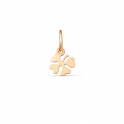 Золотая подвеска Цветок