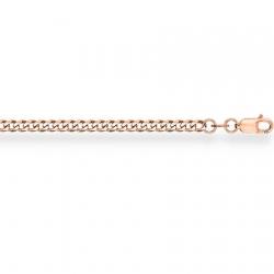Золотая цепочка Гурмета с алмазной гранью