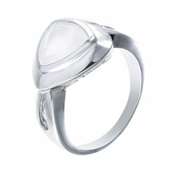 Кольцо из серебра 925 пробы с агатом