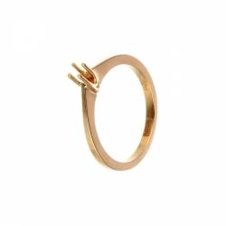 Оправа кольца из золота